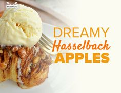 Dreamy Hasselback Apples