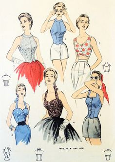 50s tops - Google Search
