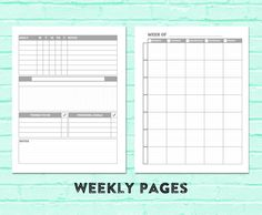 Print your own student planner.  Customizable covers included.