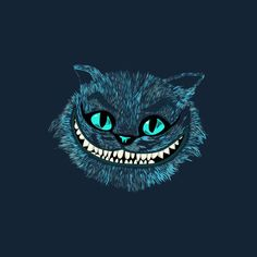 Cheshire Cat blue is a T Shirt designed by edwoody to illustrate your life and is available at Design By Humans