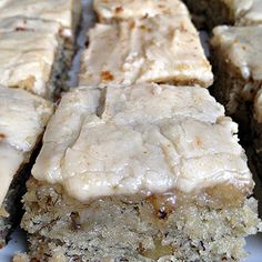 Banana Bread Brownies ~ these are unbelievable.