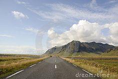 Iceland road by Claudia Fernandes, via Dreamstime