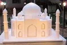 Taj Mahal Model made of thermocol