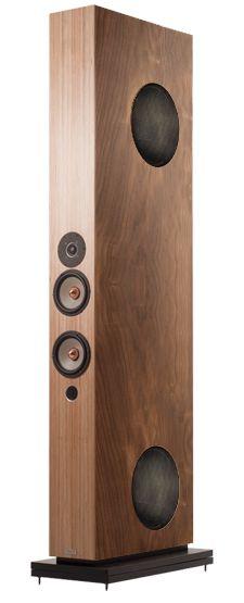 Manufacturer of stereo and home cinemas loudspeakers. Audiophile Speakers, Hifi Audio, Audio Speakers, Stereo Speakers, Audio Design, Speaker Design, High End Speakers, Sound Speaker, Man Cave Home Bar