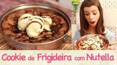 COOKIE de FRIGIDEIRA recheado com NUTELLA | TPM, pra que te quero?
