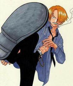 Sanji One Piece English Sub, Sanji One Piece, Manga Anime One Piece, Sanji Vinsmoke, One Piece World, Free Anime, Anime People, Guys And Girls, Sexy Men