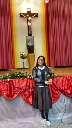 Gesela at church