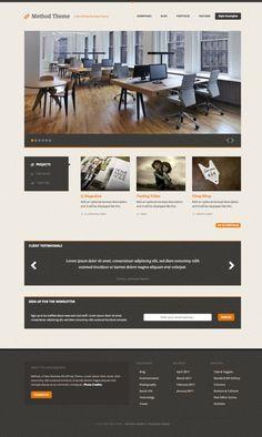 Check out Method, a Responsive WordPress Theme by DesignerThemes.com on Creative Market