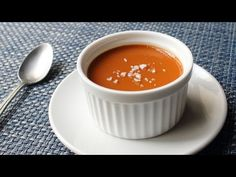 Food Wishes Video Recipes: Salted Caramel Custard – My Newest Favorite Dessert Ever