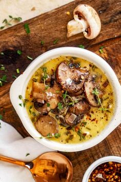 I am wild about mushrooms and this Keto Mushroom Soup is such a treat Rich and creamy this is a soup that works great for an easy low carb meal PINNING kickingcarbs mushroomsoup ketomushroomsoup ketorecipes keto Keto Mushrooms, Creamed Mushrooms, Stuffed Mushrooms, Stuffed Peppers, Low Carb Recipes, Cooking Recipes, Healthy Recipes, Easy Recipes, Diet Soup Recipes