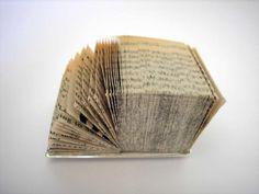 Shiri Avda brooch, from old book