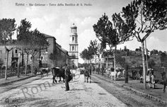Basilica di S.Paolo Bella Roma, Old Photos, Rome, Nostalgia, Street View, History, Antiques, Places, Outdoor