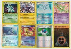 #Pokemon lot of 8 cards WITH RARES ALL PICTURED Not Perfect with #Nidoqueen 7/64 Pokemon Tcg Cards, Pokemon Go, Christmas List 2016, All Pictures, Elf, Shop, Gifts, Presents, Elves