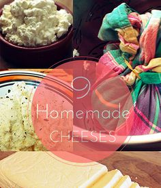 9 Mouthwatering Homemade Cheese Recipes | Transform your ordinary milk and other dairy into yummy, mouthwatering slabs of homemade cheese. | Survival Food and Recipes Homesteading DIY | #pioneersettler