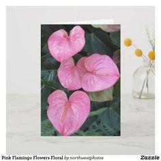 50 best flamingo flower images on pinterest flamingo flower pink flamingo flowers floral card mightylinksfo