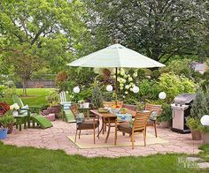 Clever backyard ideas on a budget 35