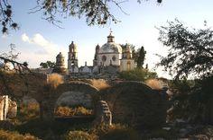 Santuario Jesús de Nazareno (Sanctuary of Jesus the Nazarean) en Atotonilco, Guanajuato, Mexico. 18th Century. The 'Sistine Chapel of America',  since 2008 designated as 'Cultural Patrimony of Humanity' by the UNESCO.