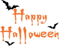halloween clipart | Happy Halloween Bats - Trading Phrases