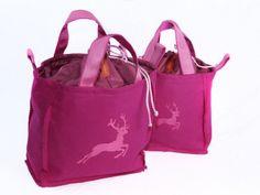 Rumpeltaschen-36 rosa, pink, Stickerei Hirsch, tuchloden, Dirndltasche, trachtentasche Pink, Alps, Oktoberfest, Embroidery, Dime Bags, Pink Hair