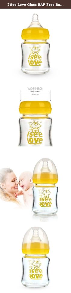 I See Love Glass BAP Free Baby Bottle 4 Ounces. Why Choose Us? 1.Safe Material! Certification: FDA, FLGB, SGS,EN14350. Made of borosilicate glass& food-grade nipple, BPA-free products, super sensitive anti-colic valve, temperature resistant up to 800℃,can be used in boiling water, sterilizers, dishwasher, microwave, fridge. 2.Anti-broken, Lighter, Clearer Glass! In our daily life, glass products is so fragile that Once broken, we have to buy a new one. Now, A great news is coming!! Our…