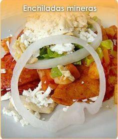 Mexican Food Recipes, Vegetarian Recipes, Cooking Recipes, Enchiladas, Comida Latina, Mexican Dishes, Tostadas, Food Videos, Good Food