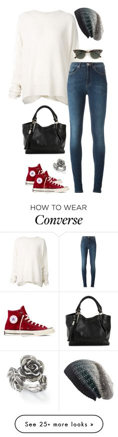 """""""Untitled #3219"""" by meandelstyle on Polyvore featuring URBAN ZEN, Converse, Acne Studios, Michael Stars, J.Crew and Natures Jewelry"""