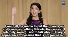 Cecily Strong absolutely destroyed at the White House Correspondents Dinner.