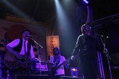 Jack Parow and David Kramer on stage @ Oppikoppi 2011 click photo