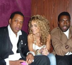 This shot's going way back -- look who Rita Ora is sitting between (Jay Z and Kanye!). Rita had curls, curls, and more curls. http://thestir.cafemom.com/beauty_style/190327/rita_oras_hair_evolution_in