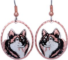 Wolf CN Series Earrings