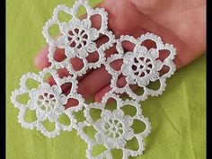 Irish lace Irish crochet flower motives, off white flower applique, Irish crochet decor, wedding dec Crochet Wool, Crochet Motifs, Crochet Flower Patterns, Irish Crochet, Crochet Doilies, Crochet Flowers, Crochet Stitches, Crochet Symbols, Knitting Patterns