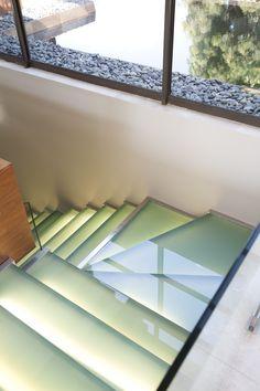 House Eccleston | Glass Staircase |  Nico van der Meulen Architects #Architecture #Contemporary #Glass