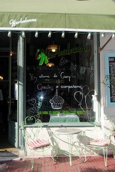 Hierbabuena | San Telmo, Buenos Aires.  Me encanta el cartel