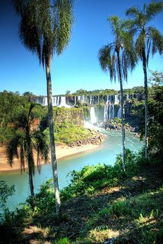Iguazu Falls ~ connects Brazil, Argentina and Paraguay