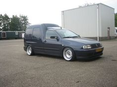 VW caddy mk2 on banded steelies