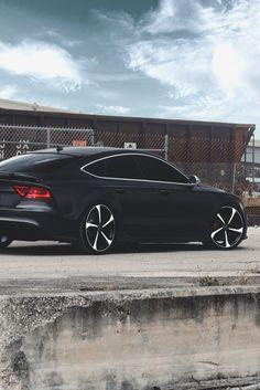 Black Audi RS7