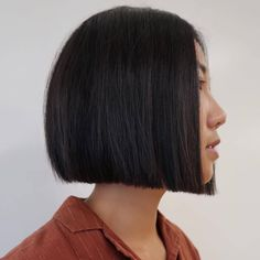 Cute Bob Hairstyles, Short Hairstyles For Thick Hair, Medium Bob Hairstyles, Haircuts For Fine Hair, Girl Haircuts, Short Hair Cuts, Curly Hair Styles, A Line Haircut, Bob Haircut With Bangs