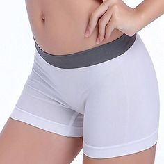 These are simply cute and super comfortable. These are all around great yoga shorts for the gym or for hanging at home. These are available in one size and two different colors so make sure to check t