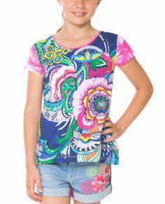 61T30A6_5099 Desigual Girl T-Shirt Delaware