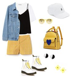 """""""#15"""" by rubyx-cube ❤ liked on Polyvore featuring Lacoste, Dr. Martens, Vince, Raey, Gap, Body Rags and Antica Murrina"""