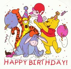 Happy Birthday Terry! Winnie the Pooh Tigger Piglet Eeyore