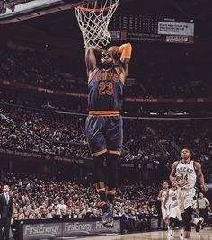 LeBron James Dunks Everything, Cavs Beat Bucks