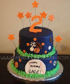 All Star Sports Cake