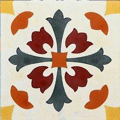 Hydraulic Tile Adhesive 20 x Stencil Patterns, Stencil Designs, Tile Patterns, Stencil Painting, Fabric Painting, Ramadan Crafts, Clay Tiles, Mosaic Diy, Tile Art