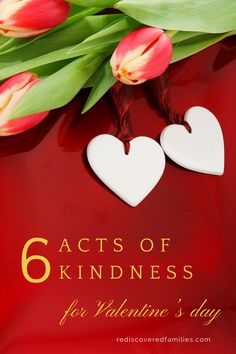 Valentine's day can be a wonderful time for families. It is a time to make memories and affirm your love for each other. Adding in some acts of kindness will turn this day into a time of giving and that is great way to celebrate love.