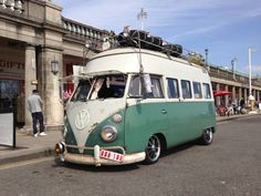D.H.CULLEN Performance Car Hire - Ratty VW split campervan