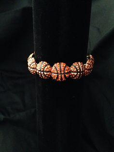 Basketball Stretch Bracelet