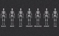 We are all the same!