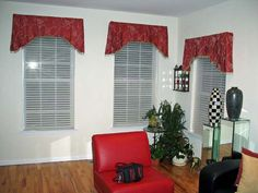 Valances Window Treatments | Emanuel Window Treatment