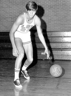 "Pete Maravich . . . legendary LSU basketball player - nick-named ""The Pistol"" for his gun-slinger style of play and passion for the game.When inducted into the basketball hall of fame as one of its youngest members, he was sited as ""perhaps the greatest creative offensive talent in history""."